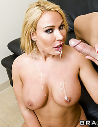 Massive dick in hot blonde