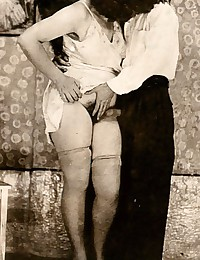 Real vintage hardcore couples in the forties