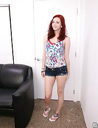 Saucy Redhead Cutie Nicole Aniston