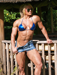 Fetish for muscular females.