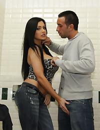 Big tits brunette hardcore