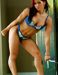 Hot muscle girls here look awesome in clothes and without anything on their bodies.