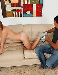 Luscious Molly Spreads For Hard Cock