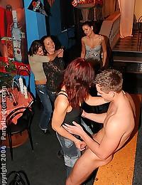 Girls sucking guy strippers cocksand fucking club