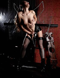 Oxana is ready for some bdsm in these free pictures courtesy of Fedorov HD.
