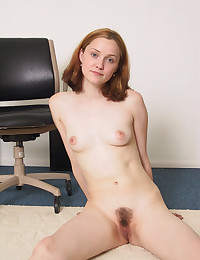 Teen and her hairy bush