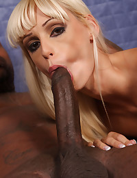 She blows black guys