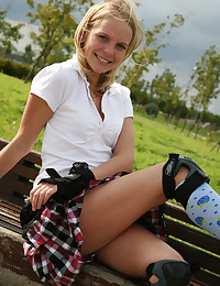Adventurous schoolgirl on rol...