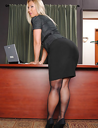 Office Sex With Busty Devon Lee