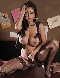 Badass Latina Milf Priya Rai