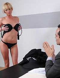 Horny Jailbird Victoria Gets Drilled