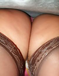 Upskirt looks at hot asses