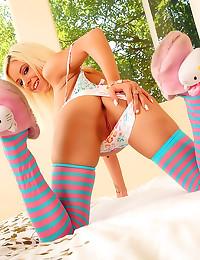 Huge toy in teenage girl