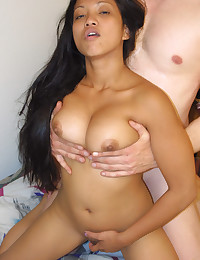 Asian knob gobbling girl is sexy