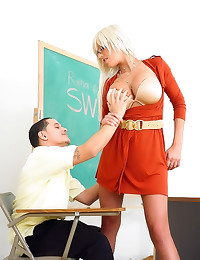 Teacher wants to have his cock