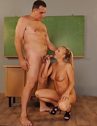 Teen classroom girl fucked