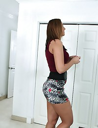 Cute Office Babe Taylor Teases Us