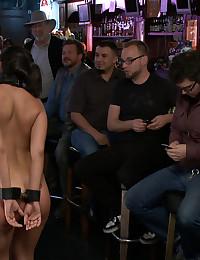 Slut at the bar