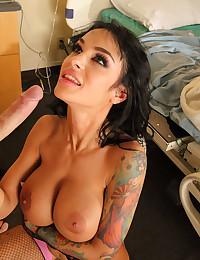 A horny big tit wife fucked