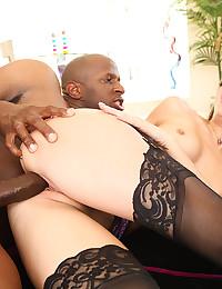 Naughty Jenna Haze Loves Huge Cock