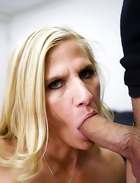 Big dick fucks milf in office