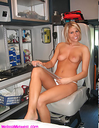 Babe in the firehouse modelin...