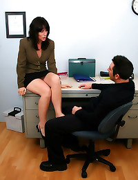 Frisky matures in the office