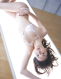 Gorgeous Asian Wearing Seductive Lingerie