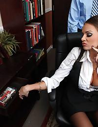 Big cock office hardcore