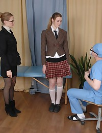 Caught for a team college medical examination