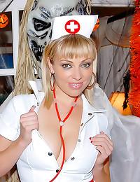 Milf nurse needs hard cock
