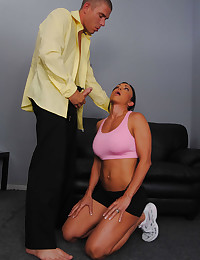 Hot Gym Instructor Fucked By Client