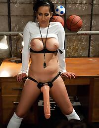 Big anal penetrations for slut