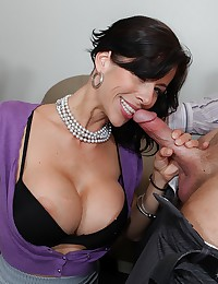 Slutty big tits milf great sex