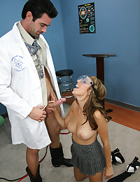 Science class sexual experiment
