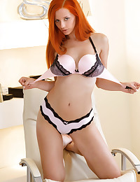 Ariel A is looking hot as hell in her sexy lingerie today.