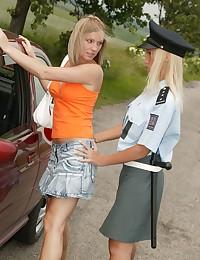 Lesbian cop fun
