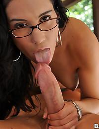 Horny Latina In Voyeur Fucking