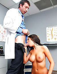 Doctor fucks his sexy patient