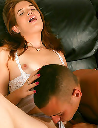 Super wet pussy through panti...
