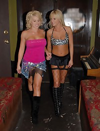 Two Hot Blondes Having One Wild Time!