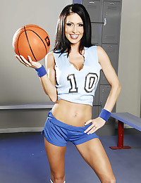 Basketball babe strips