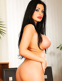 Aletta Ocean office hardcore sex