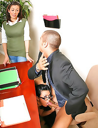 Eva Angelina in office fuck