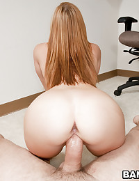 Naughty Redhead Dani Rides Wang