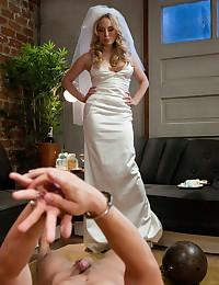 Busty Bride Dominates