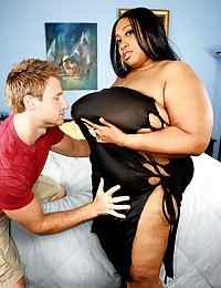 Mega fat black slut