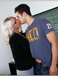 Teacher needs a big cock