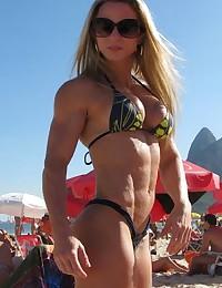 Beautiful muscle women.