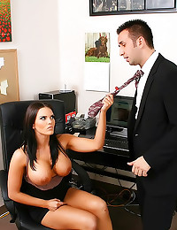 Luscious big boobs coworker f...